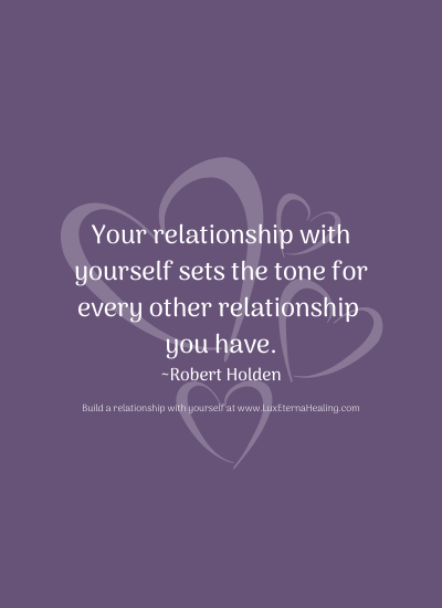 Your relationship with yourself sets the tone for every other relationship you have. ~ Robert Holden
