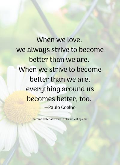 Love Better, Be Better Blog