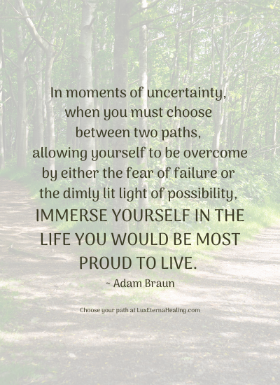 Immerse Yourself in Possibility Blog